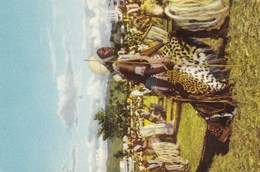 Voyage Du Roi Au Congo été 1955, Reis Van De Koning In Congo Zomer 1955, Cote D'or Chocolat (pk49165) - Belgian Congo - Other