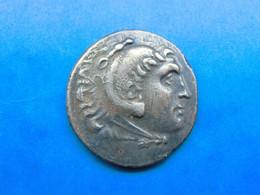 MAKEDONIEN Tetradrachme Aspendos Postum 190/189 Alexander III (336-323 V.Chr.) - Griechische Münzen