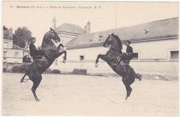 Lot De 11 CPA Saumur - Ecole D'aplication De Cavalerie / Chevaux, Equitation, Carrousel Militaire - Cartes Postales