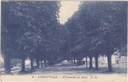 55 - LEROUVILLE (Meuse) - Promenade Du Mont - 1931 - Lerouville