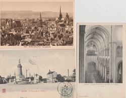 18 / 6 / 404  -  LOT  DE  8  CPA  DE  DIJON  - Toutes Scanées - Cartes Postales