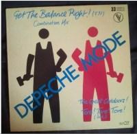 Depeche Mode -Get The Balance Right - 45 Rpm - Maxi-Singles