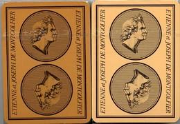2 Jeux De 54 Cartes Montgolfieres - The  Montgolfiers - 54 Cards