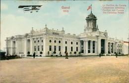 Gent Ghent (Gand) Doppeldecker - EXPO - Le Pavillon Du Canada 1913  - Belgium
