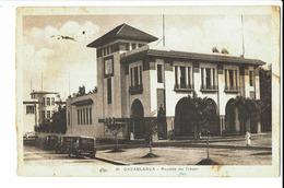 CPA - Carte Postale -Maroc - Casablanca -Recette Du Trésor  - 1932 -  S655 - Casablanca