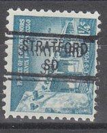 USA Precancel Vorausentwertung Preo, Locals South Dakota, Stratford 841 - Vereinigte Staaten