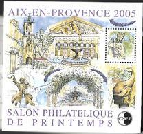 FRANCE Bloc CNEP N° 43 Salon Philatélique De Printemps, à Aix-en-Provence. - Neufs ** - 2005 - CNEP