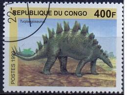 PIA  - REPUBBLICA DEL CONGO - Animali Preistorici - Tuojiangosaurus - Congo - Brazzaville