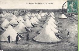 -- 10 -- CAMP DE MAILLY -- VUE GÉNÉRALE -- 1914 - ANIMATION - Mailly-le-Camp
