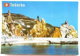 #351 Rocks, Coastline In Tabarka, DJERBA Island - TUNISIA, North Africa - Postcard - Tunisia