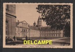 DF / 71 SAÔNE ET LOIRE / CLUNY / ABBAYE / PALAIS DATHOSE ( FAÇADE, JARDINS ) - Cluny