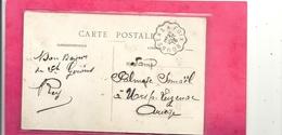"""L'ARIEGE PITTORESQUE - LA BETHMALAISE + OBLIT CONVOYEUR RECTO/VERSO De """" BOUSSENS A FOIX """" 27-8-1916 .2 SCANES - France"""