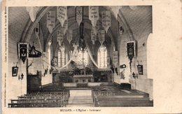 41 - MUIDES -- L'Eglise - Intérieur - Autres Communes