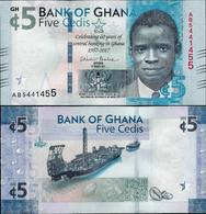 Ghana 2017 - 5 Cedis - Pick NEW UNC Commemorative - Ghana