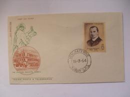 INDIA - 1964 - Haffkine Commemoration - FDC - Inde