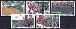SCHWEDEN Mi. Nr. 1060-1064 O (A-6-1) - Suède