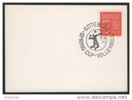 SWEDEN GOTEBORG 1971 - VOLLEYBALL SPRING CUP - FRAGMENT - Pallavolo