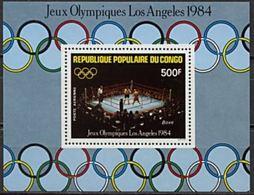 "Congo Bloc YT 35 "" JO Los Angeles "" 1984 Neuf** - Congo - Brazzaville"