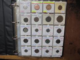 MONDE 163 MONNAIES (DONT 27 EN ARGENT) ANCIENNES/RECENTES. BEAU LOT. 1 KILO 750 - Monedas & Billetes