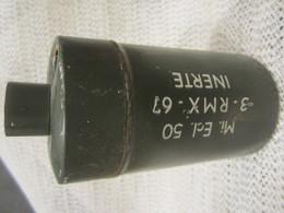 Nime Anti-personnel Inerte Model 50 Grenade Algérie - Armi Da Collezione