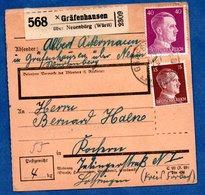 Colis Postal  --  Départ Gräfenhausen --17/5/1943 - Storia Postale