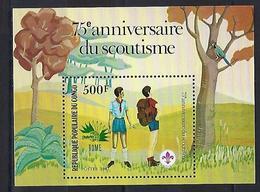 """Congo Bloc YT 38 """" Expo Philatélique à Rome """" 1985 Neuf** - Congo - Brazzaville"""