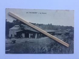 GENAPPE -NOIRHAT Nº 41» LA SCIERIE « Animée (1931)Édit BAUDINÈRE ,Paris . - Genappe