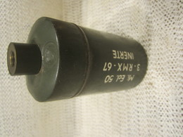 Nime Anti-personnel Inerte Model 50 Grenade Algérie - Armes Neutralisées