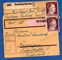 Colis Postal  --  Départ Bochum-Gerthe -  31/5/1943 - Germany