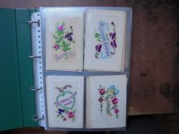 BRODEES-CELLULOIDS-MIGNON-CHAPEAUX-THEMES. BEAU LOT 67 CARTES EN ALBUM(800 Grammes) - Cartes Postales