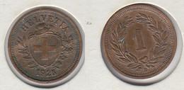 Suisse 1 Rappen 1925  Helvetia - Schweiz