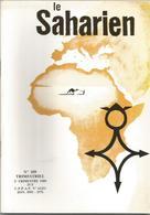 Revue Le Saharien No  109  2eme Trimestre 1989 D'algérie Au Gabon G.Hervigo  Au Tchad   Env2,50 - Other
