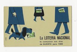 Calendar * Spain * 1969 * La Loteria Nacional - Calendars