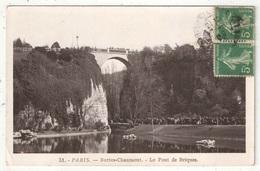PARIS 19 - Buttes-Chaumont - Le Pont De Briques - Rose 51 - 1909 - Arrondissement: 19
