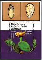 "Congo Bloc YT 44 "" Cactus "" 1989 Neuf** - Congo - Brazzaville"