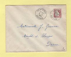 Venterol - Drome - 1964 - Marianne De Decaris - Manual Postmarks
