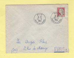 Rille - Indre Et Loire - 1964 - Marianne De Decaris - Marcophilie (Lettres)