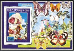 "Congo Bloc YT 46 "" Scoutisme Et Champignons "" 1990 Neuf** - Congo - Brazzaville"