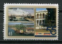 Cuba 2018 / Ships MNH Barcos Bateaux Schiffe / Cu8331  C3 - Barcos