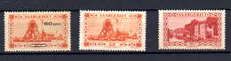 1930  Sarre, Caserne Vauban, Puits De Mine, 139 / 140A **,  Cote 55 €, - Ungebraucht