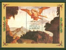 Antigua & Barbuda: 1985   Christmas - Religious Paintings   M/S  MNH - Antigua And Barbuda (1981-...)
