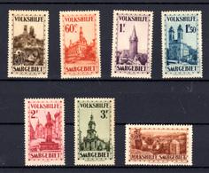 1933  Sarre, 155 / 161 **,  Cote 820 € - 1920-35 Société Des Nations