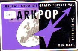 NEDERLAND CHIP TELEFOONKAART CRE 337 *  Parkpop '96  Den Haag  *  Telecarte A PUCE PAYS-BAS * ONGEBRUIKT MINT - Netherlands