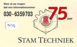 NEDERLAND CHIP TELEFOONKAART CRE 338 *  STAM TECHNIEK  *  Telecarte A PUCE PAYS-BAS * ONGEBRUIKT MINT - Netherlands