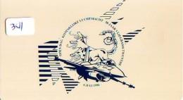 NEDERLAND CHIP TELEFOONKAART CRE 341 * ROYAL AIRFORCE * AIRPLANE  *  Telecarte A PUCE PAYS-BAS * ONGEBRUIKT MINT - Avions