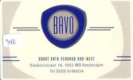 NEDERLAND CHIP TELEFOONKAART CRE 342 * BAVO *  Telecarte A PUCE PAYS-BAS * ONGEBRUIKT MINT - Netherlands