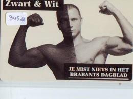 NEDERLAND CHIP TELEFOONKAART CRE 345.01 * BRABANTS DAGBLAD *  Telecarte A PUCE PAYS-BAS * ONGEBRUIKT MINT - Netherlands