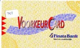 NEDERLAND CHIP TELEFOONKAART CRE 351 * Finata Bank  *  Telecarte A PUCE PAYS-BAS * ONGEBRUIKT MINT - Netherlands