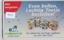 NEDERLAND CHIP TELEFOONKAART CRE 353 * COBERCO  *  Telecarte A PUCE PAYS-BAS * ONGEBRUIKT MINT - Netherlands