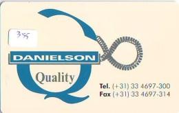 NEDERLAND CHIP TELEFOONKAART CRE 355 * Danielson  *  Telecarte A PUCE PAYS-BAS * ONGEBRUIKT MINT - Netherlands